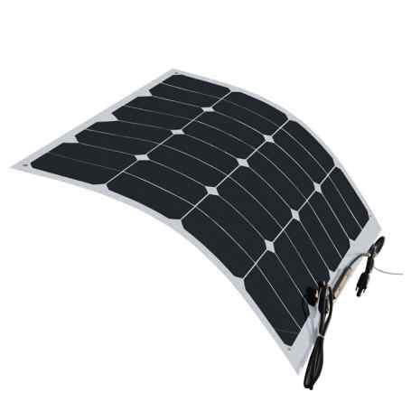 Panneau solaire flexible 12V 20W monocristallin back contact