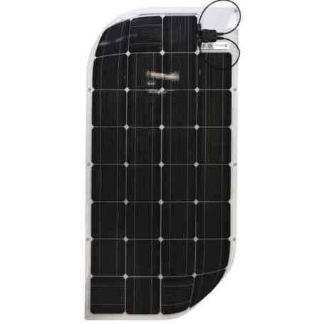 Panneau solaire flexible 12V 110W monocristallin back contact