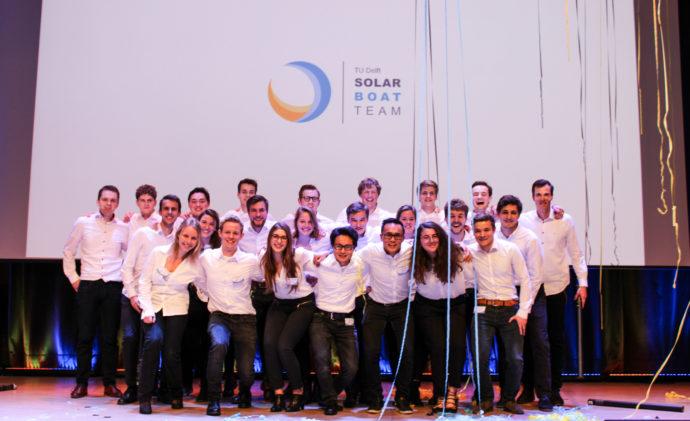 équipe du TU Delft Solar Boar